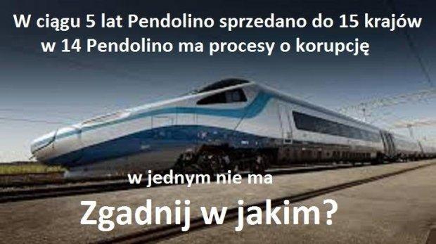 Pendolino i korupcja?