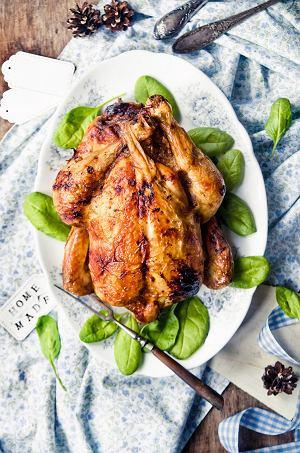 Kurczak nadziewany mielonym z orzechami