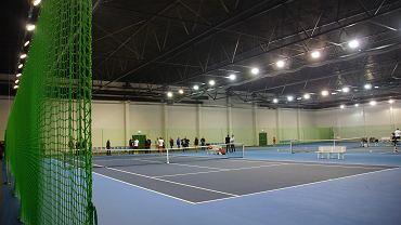 Otwarcie hali tenisowej