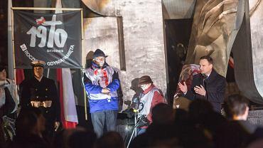 Obchody 45. rocznicy wydarzeń Grudnia 70' z udziałem prezydenta Andrzeja Dudy