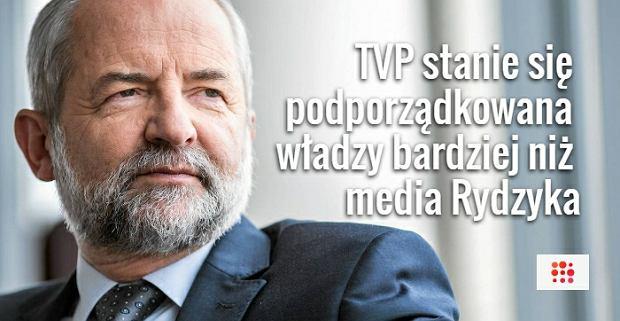 Były prezes TVP: Władza może zacząć kontrolować media prywatne. KRRiT stanie się organem policyjnym