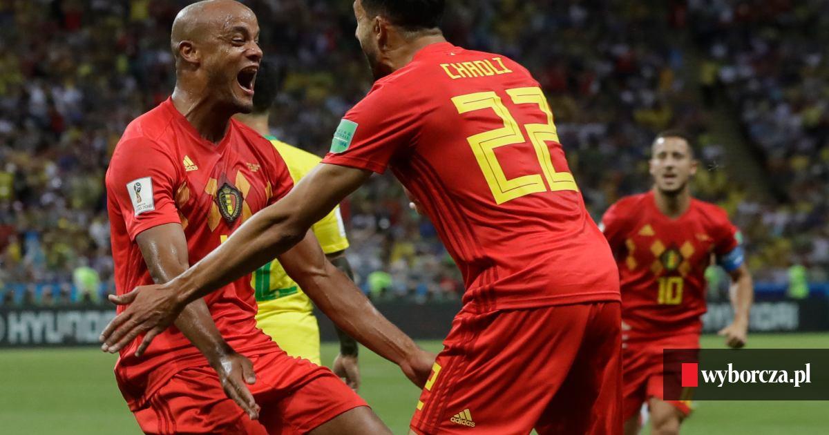 90be9daae MŚ 2018. Belgia zmieniła mundial w Euro. Brazylia odpada z mistrzostw!