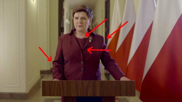 Garsonka Beaty Szydło - orędzie z dnia 12.01