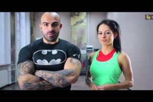 Akop i Sylwia Szostak. Trening brzucha [Cz. 2]