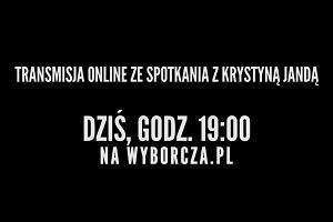 """Krystyna Janda w """"Centrum Premier Czerska 8/10"""""""