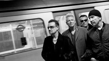 U2, czyli (od lewej) Bono, Adam Clayton, Larry Mullen i The Edge