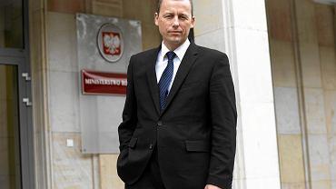 Mikołaj Wild, pełnomocnik rządu d/s budowy centralnego portu lotniczego.