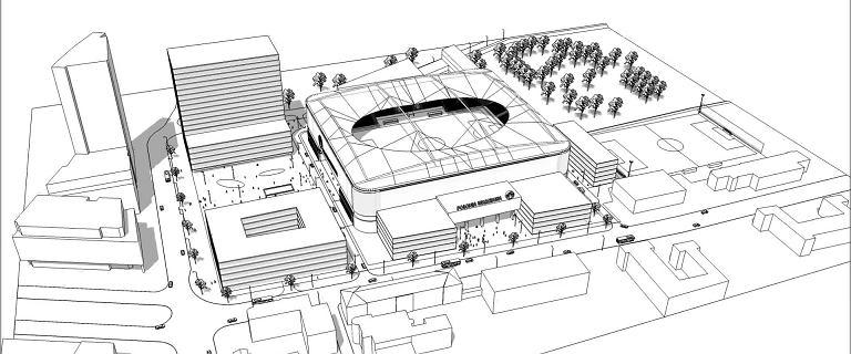 Tak ma wyglądać nowy stadion Polonii z kompleksem hotelowym biurowym i usługowym
