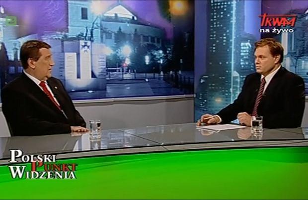 Prof. Jacek Ro�da w TV Trwam