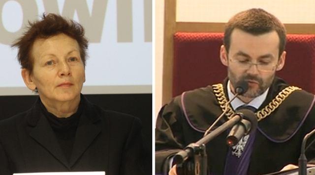 Prof. Monika Płatek, sędzia Adam Chmielnicki