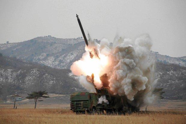 Testy pocisk�w rakietowych w Korei P�nocnej