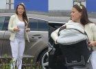 Anna Mucha na zakupach z 4-miesi�cznym synem. Gdy zobaczy�a paparazzo, to...