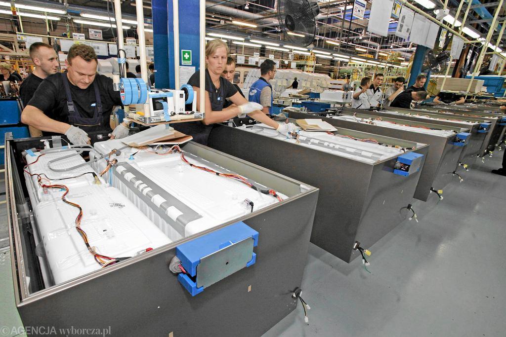 Hala produkcyjna lodówek firmy Samsung, Wronki