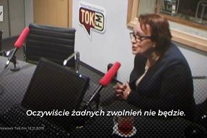 """""""Ja się boję panie marszałku"""". Tak minister Zalewska zareagowała na wypowiedzenie warunków pracy"""