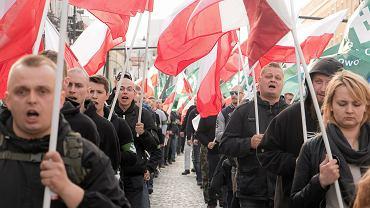 Marsz ONR w Białymstoku, 16.04.2016