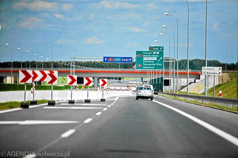 Autostrada A1 biegnąca od granicy Czech urywa się dziś koło lotniska w Pyrzowicach. Ma być przedłużona do Częstochowy