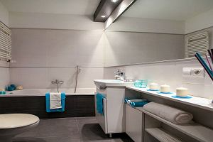Funkcjonalna łazienka - miejsca do przechowywania kosmetyków