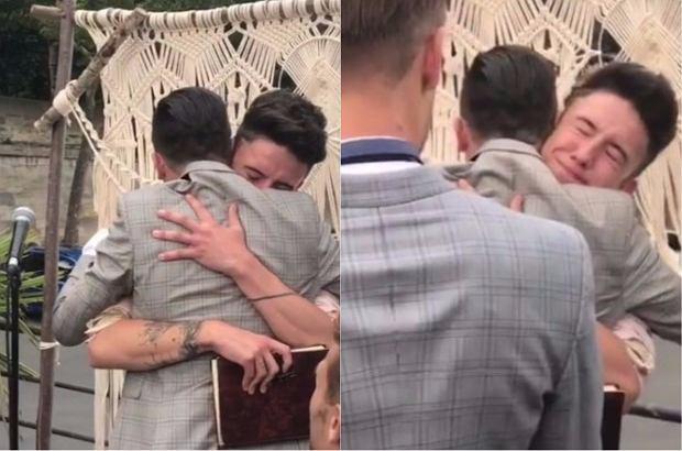 W piątek Michał Kwiatkowski, brat Dawida Kwiatkowskiego, wziął ślub ze swoim wieloletnim narzeczonym Maximem Assenzy. Zobaczcie, jak wyglądała ceremonia i wesele.