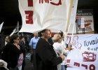 Grecy protestuj� przeciwko ci�ciom emerytur