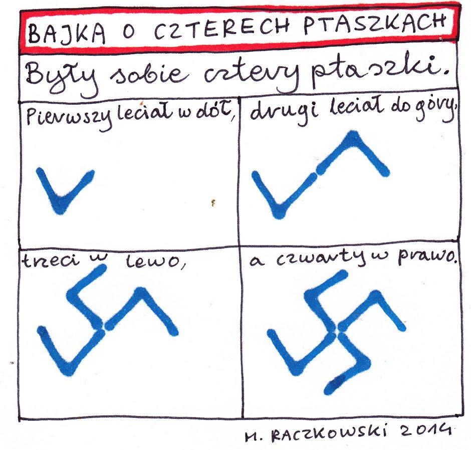 Marek Raczkowski dla Gazeta.pl - 28.11.2014 - rys. Marek Raczkowski