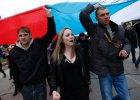 """""""Chcemy do Rosji!"""", """"Krymie, powsta�!"""". Symferopol zadowolony z wniosku Putina o u�ycie wojsk [RELACJE MIESZKA�C�W]"""