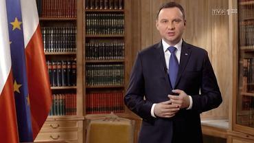 Orędzie prezydent Andrzeja Dudy