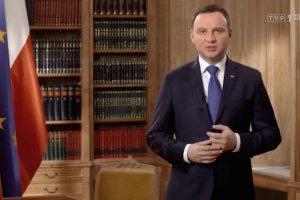 Prezydent Duda: Odebra�em wczoraj przysi�g� od s�dzi�w, by zako�czy� niepotrzebne wa�nie