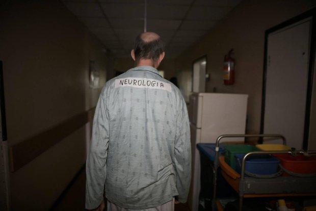 Dziki lokator w szpitalu
