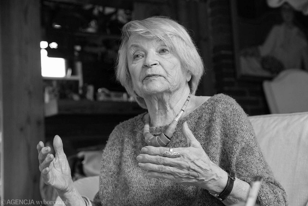 Architekt Jadwiga Grabowska - Hawrylak zmarła w wieku 98 lat