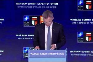 Szczyt NATO. Stoltenberg: NATO nie szuka konfrontacji, nie chcemy nowej Zimnej Wojny