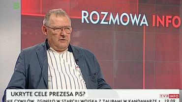 Adam Michnik w TVP Info