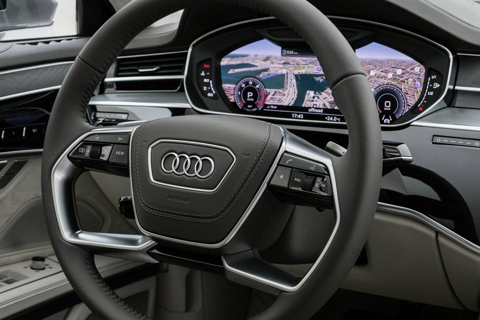 Nowe Audi A8 2017 Teleportacja Do Przyszłości