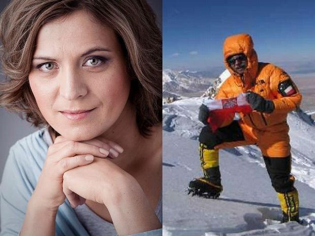 Olga Morawska, z prawej Piotr Morawski