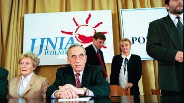 Profesor Olga Krzyżanowska w 1996 roku