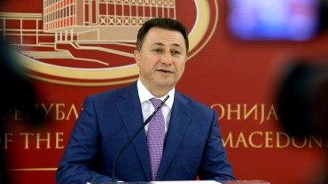 Premier Macedonii Nikoła Gruewski podał się do dymisji