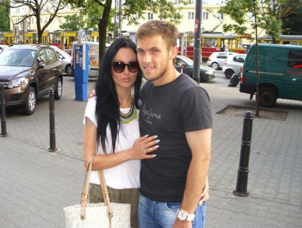 Natalia Czubaj i Maciej Rybus