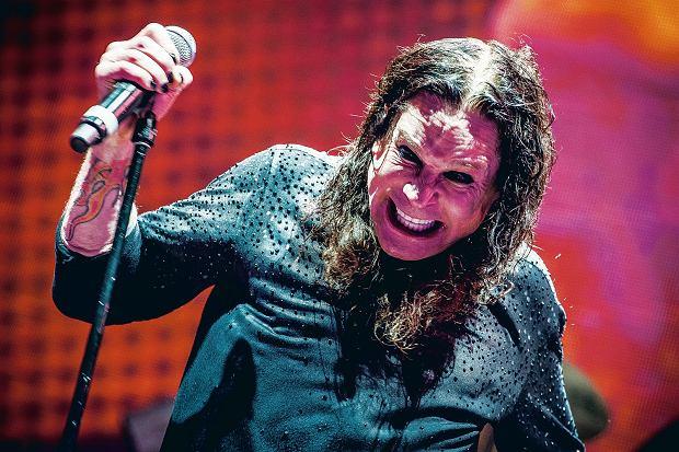 Ozzy Osbourne podczas ostatniego polskiego koncertu Black Sabbath - w Krakowie w lipcu 2016