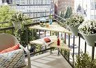 Stolik na balkon - DIY na lato