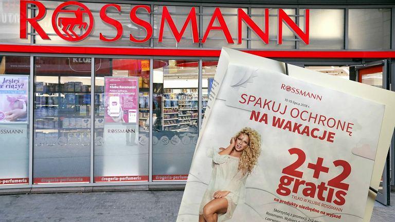 Rossmann 2+2 - promocja pod hasłem 'Spakuj ochronę na wakacje' trwa od 10 do 19 lipca 2018