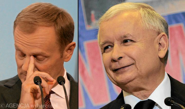 Donald Tusk, Jarosław Kaczyński