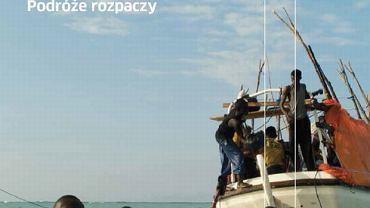 """Fragment okładki książki """"Na południe od Lampedusy"""""""