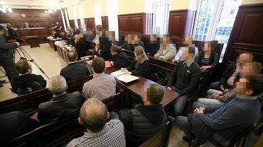 Proces rolników w szczecińskim sądzie przy ul. Mickiewicza