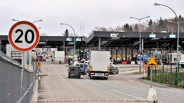Polsko - ukrainskie przejście graniczne w Medyce