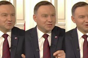 Andrzej Duda ogłasza, że Andrzej Duda nie jest prezydentem wszystkich Polaków