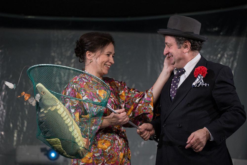 Śmierć pięknych saren, Teatr Żydowski im. Estery Racheli i Idy Kamińskich / fot. Andrzej Wencel