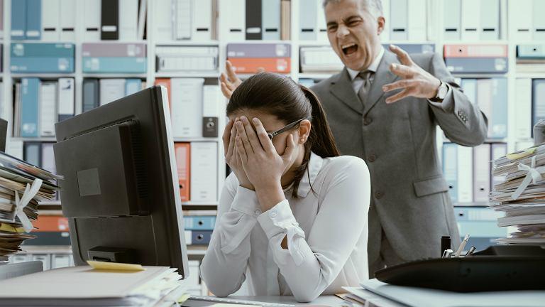 Mobbing w pracy