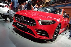 Pierwszy kontakt z nowym Mercedesem Klasy A - mocny podmuch z dwóch stron