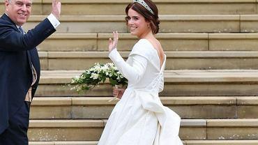 Ślub księżniczki Eugenii z Jackiem Brooksbankiem