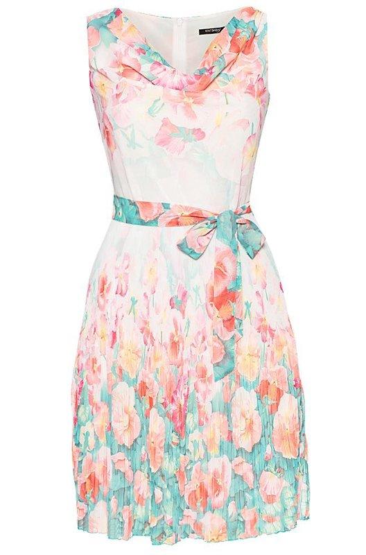16fbe84ee9 Sukienki w kwiaty z wiosenno - letnich kolekcji - zdjęcie nr 41
