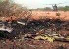 Są pierwsze nagrania oraz zdjęcia z miejsca katastrofy samolotu Air Algerie